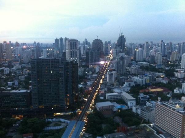 タイの都市部