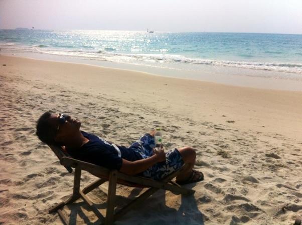 タイのビーチ