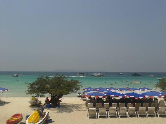タイのビーチリゾート、パタヤ