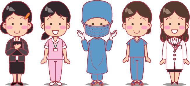 オペ室(手術室)の看護師の役割ついて【外回りの看護師と器械出し看護師】