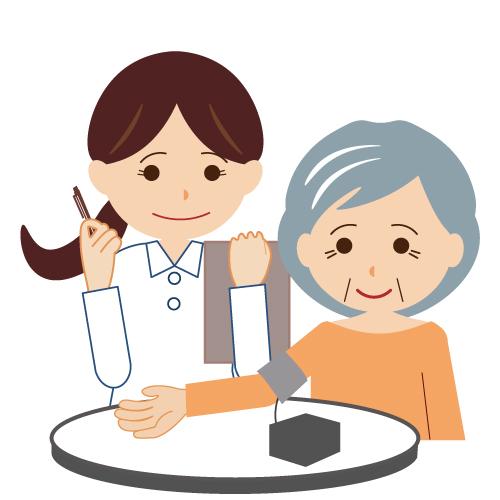 看護技術の一つ血圧測定(バイタルサインの測定)の業務について